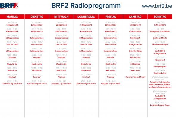 BRF2 Programmraster