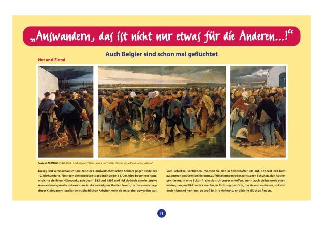 Die belgischen Emigranten von gestern