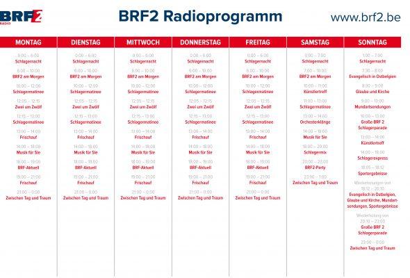 BRF2-Programmübersicht 2018