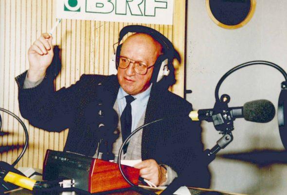 Mundartmoderator Kurt Fagnoul 1999