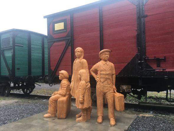 Jüdische Kindertransporte: Denkmal von Sebastian Schmidt in Herbesthal